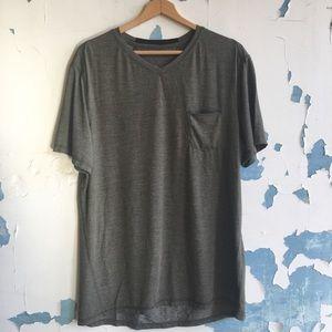 Lululemon | Up Front T-Shirt Heathered Fatigue